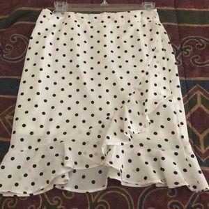 Polka Dot skirt with frills